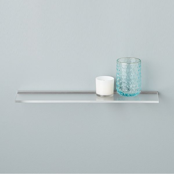 Umbra Sheer Acrylic Wall Shelves Container Store Wall Shelving Custom Container Store Floating Shelves