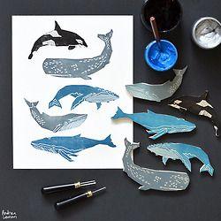 Andrea Lauren : Printmaking + Pattern Design