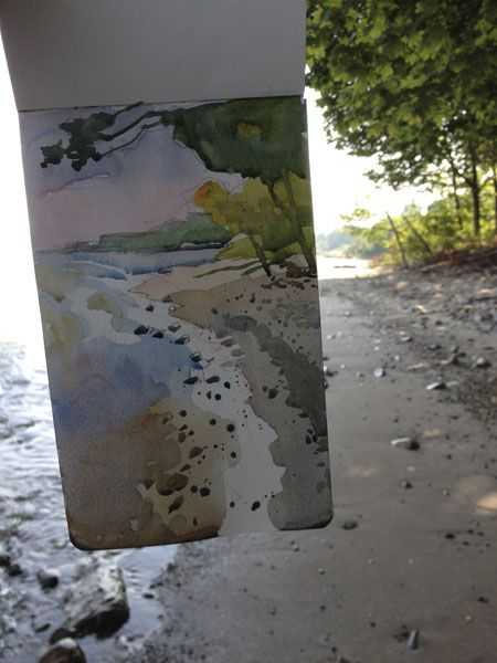 Blog of the Back Run: More Lake Erie Beach