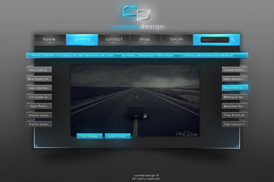 Web Interface Design Mobile Responsive Site | local business ...