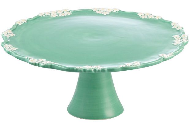 """Flowers and Branches Cake Stand, 8"""" on OneKingsLane.com"""