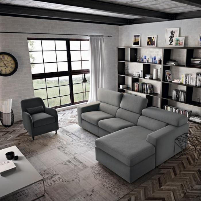 le canap poltronesofa meuble moderne et confortable angles canap s et gris. Black Bedroom Furniture Sets. Home Design Ideas