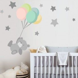 Vinilos infantiles decorativos para bebe starstick for Pegatinas decoracion bebe