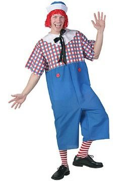 Very pity raggedy ann and andy costume for adult with you