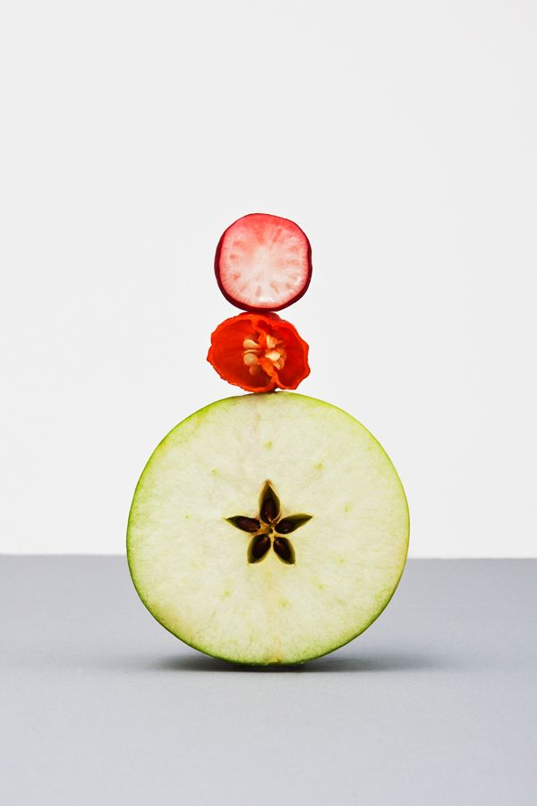 Still life by Raw Color for Martin Creed's Sketch Restaurant in London
