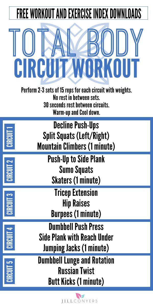 Calorie Burning Muscle Toning Total Body Circuit Workout | Serious