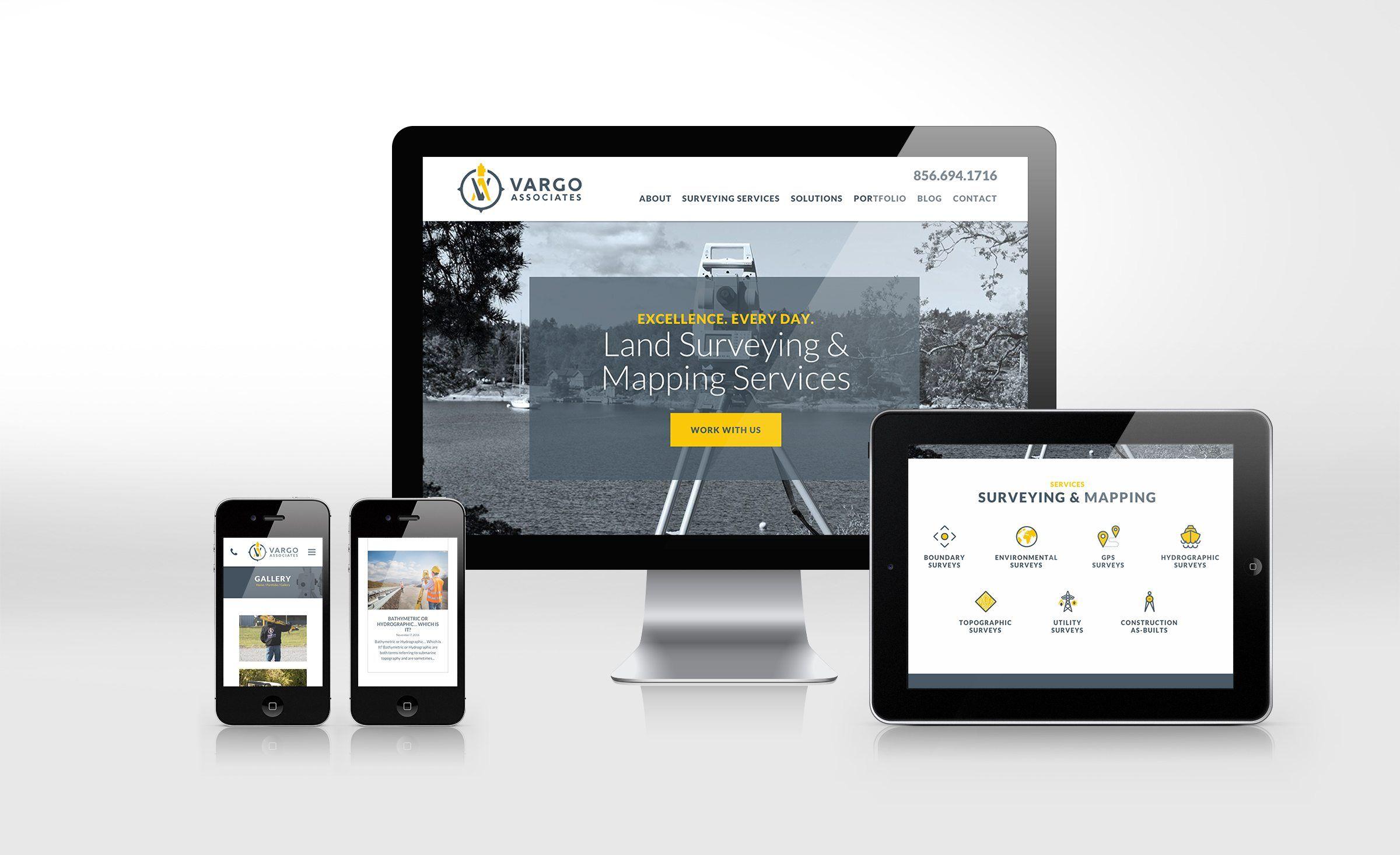 Vargo Associates Kickcharge Creative Portfolio Web Design Web Design Website Design