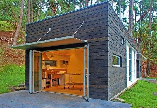 Estilo minimalista!! Estas casas son hermosas y no muy costosas si se tiene ingenio.