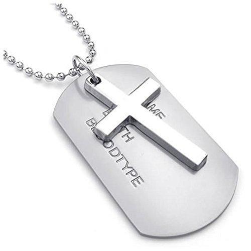 ae65c1d132d8 Comprar Ofertas de Collar militar - SODIAL(R) Collar de joyeria para hombre