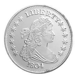 1 Oz 1804 Dexter Dollar Replica Silver Medallion Design Silver Bullion Custom Mints Rare Coins