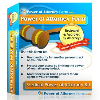 Medical Power Of Attorney Form  Products I Love