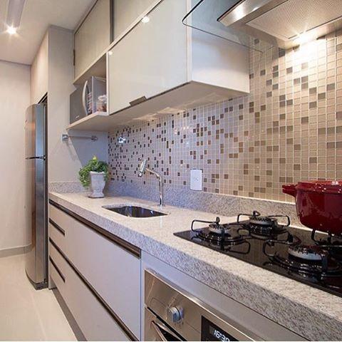 Veja mais de 100 fotos de cozinhas moduladas cozinha - Armarios para casas pequenas ...