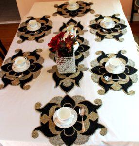 Beaded Table Runner Sets & Beaded Table Runner Sets   http://techmo.info   Pinterest   Beads ...
