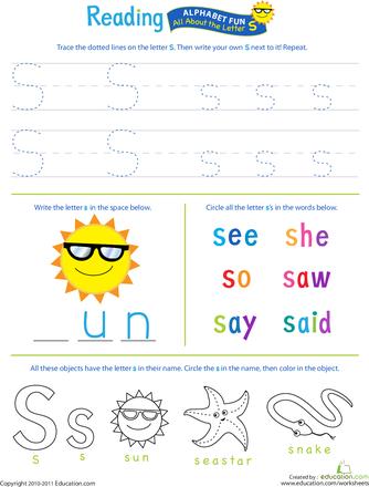 Number Names Worksheets letter s worksheets for kindergarten : 1000+ images about Letter s on Pinterest | Magic bullet, Snakes ...
