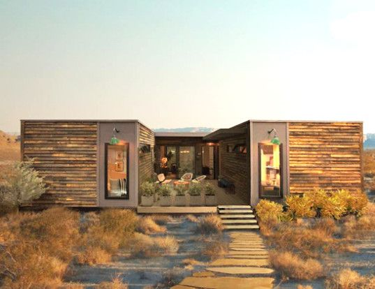 LivingHomes' zero-energy Joshua Tree prefab house is now on sale