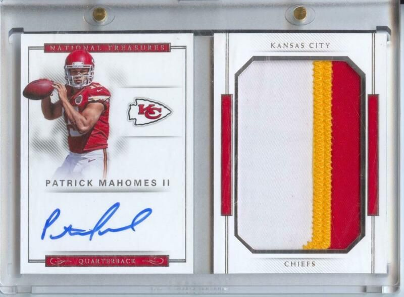 2017 national treasures rookie autograph patch booklet