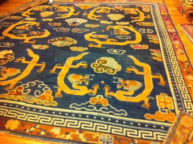 TIBETIAN DRAGON CARPETS | ... expert ancient textiles antique carpets eastern carpets persian rugs