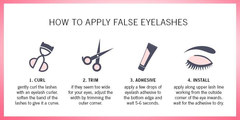 How To Apply False Eyelashes By Shu Uemura Shu Lashes In