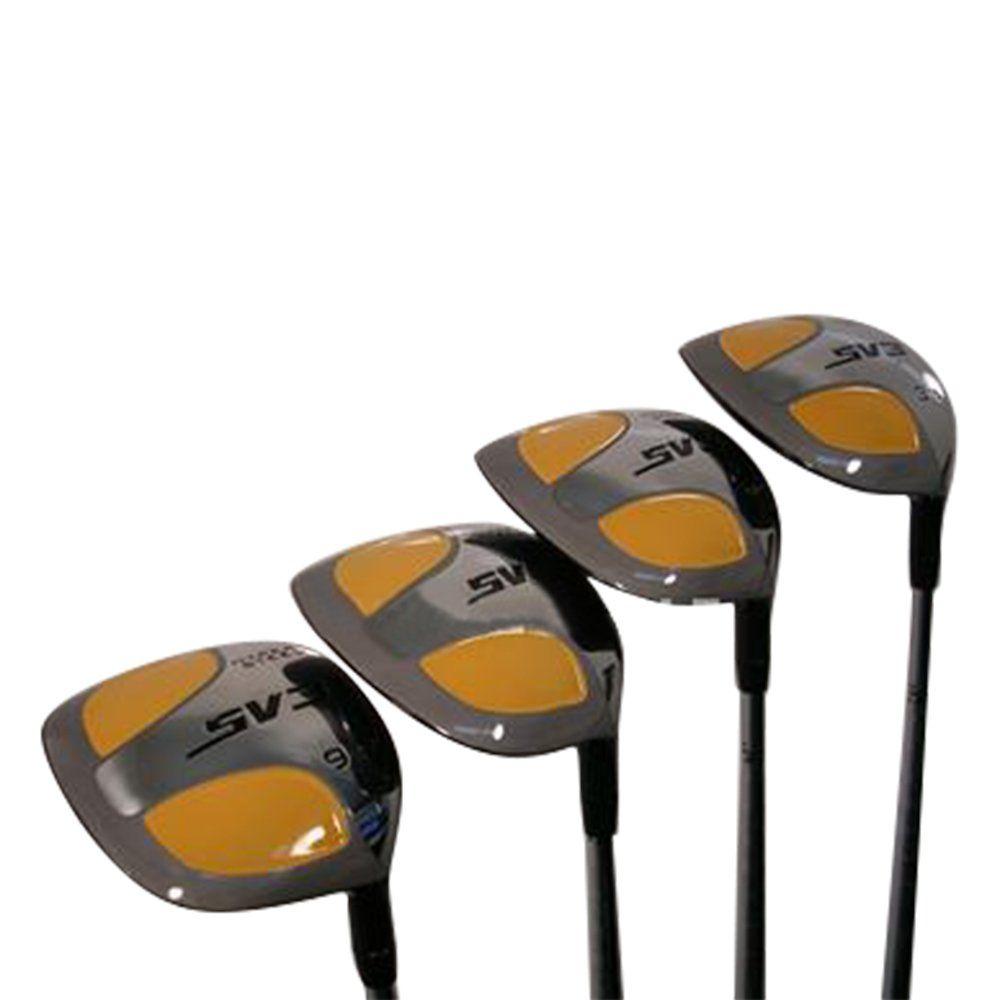 Golf Clubs Senior Mens Sv3 Yellow Square Fairway 3 5 7 9 Wood Set Golf Clubs Right Handed Senior Flex With Mens Senior Size Black Pro Ve Golf Clubs Golf Flex