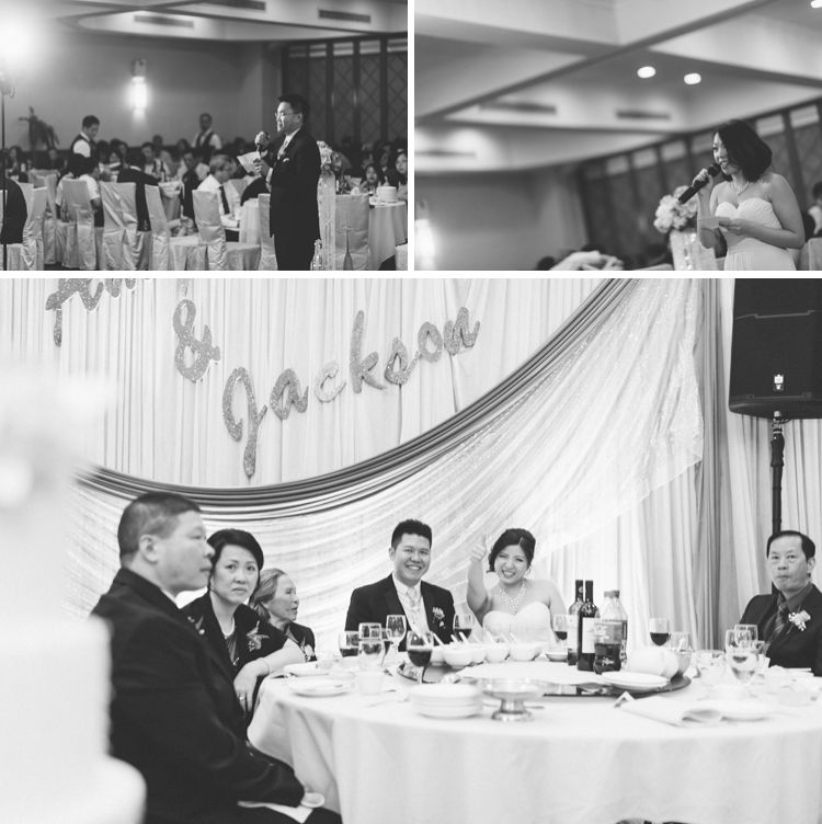 Wedding at the East Harbor Seafood Palace in Brooklyn. Captured by NYC wedding photographer Ben Lau.