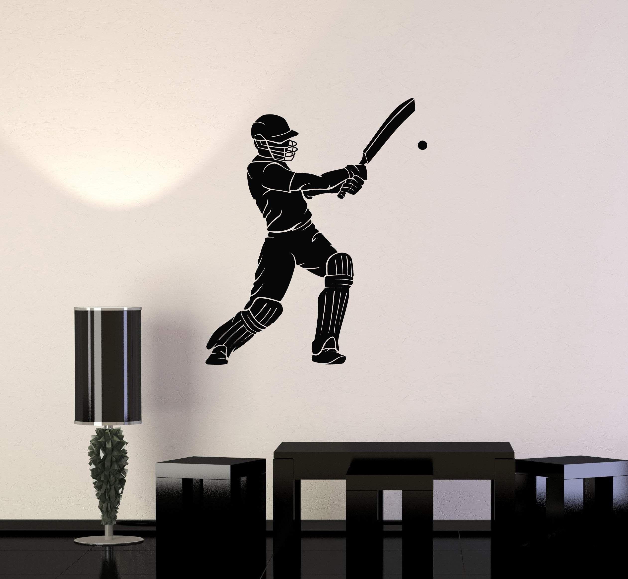 Baseball Vinyl Wall Decal Sticker Home Decor Family
