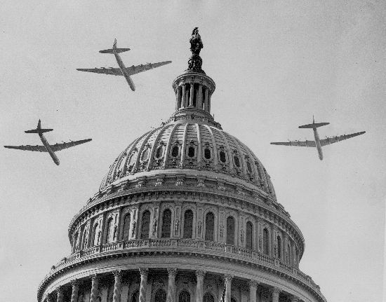 August 8, 1946: First flight of the Convair B-36