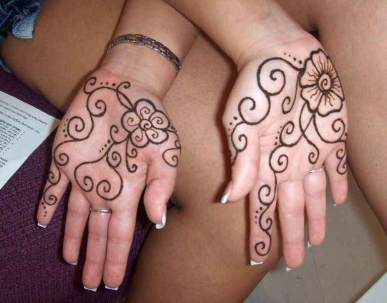 Mehndi Patterns Easy On Paper : Beautiful mehndi designs and patterns to try random talks
