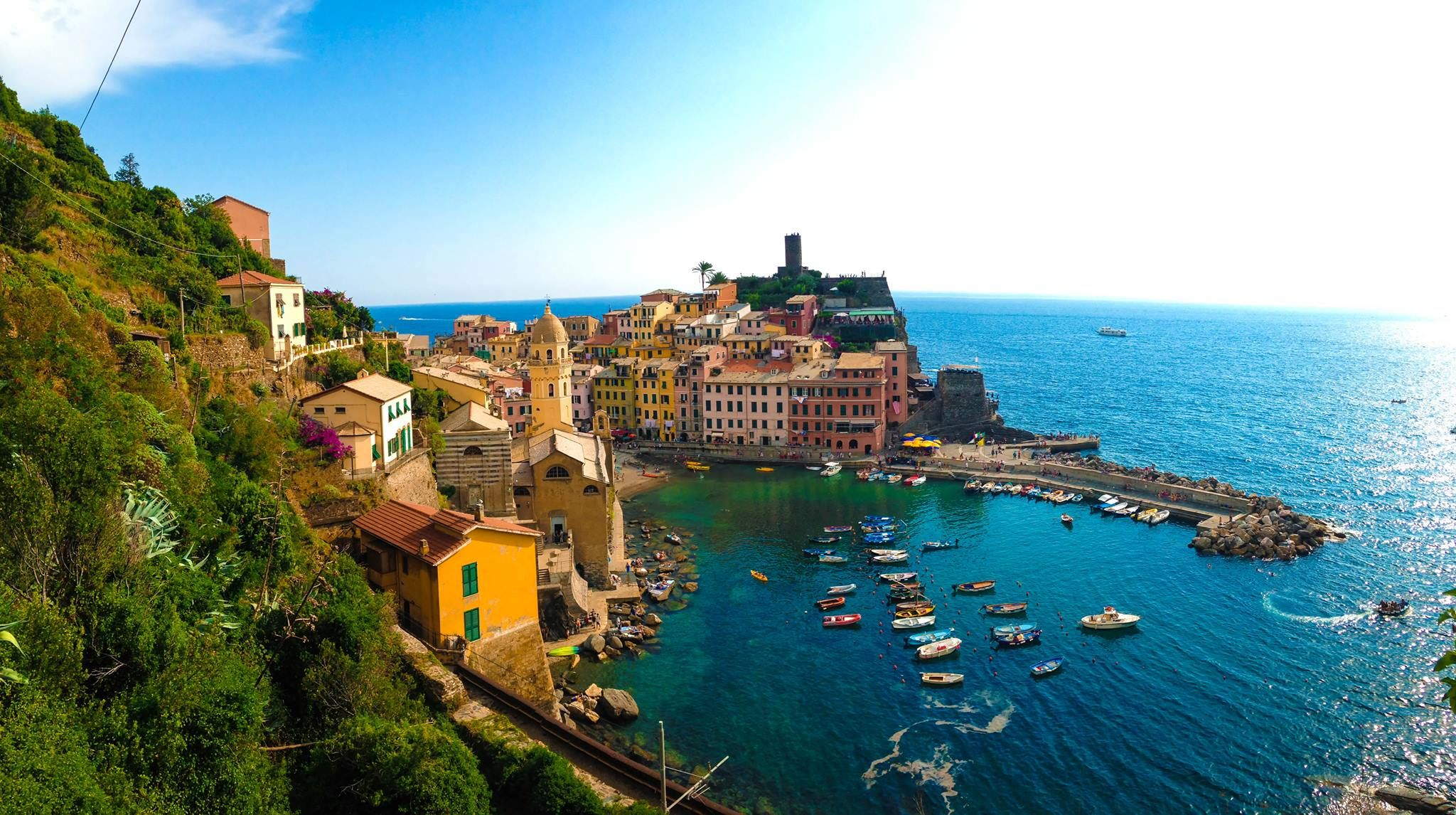 Vernazza, Italy. Photo taken by Sarah Neighbour.  #travel #italy