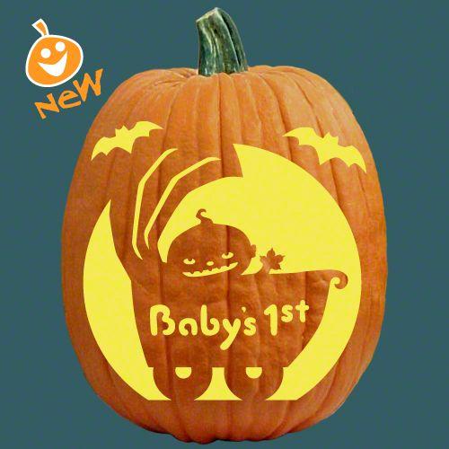 1st halloween pumpkin template  cute idea from Pumpkinlady.com in 6 | Pumpkin carving ...
