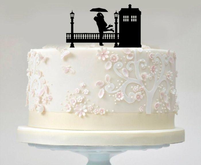 Romantische hochzeitsdeko tortenfiguren selber machen - Dekoration fur torten ...