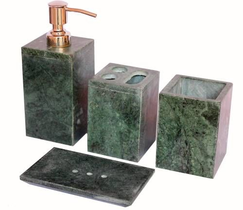 Stonkraft Natural Stone Made Bathroom Accessories Stoneware