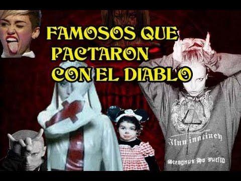 LISTA DE FAMOSOS QUE PACTARON CON EL DIABLO - YouTube