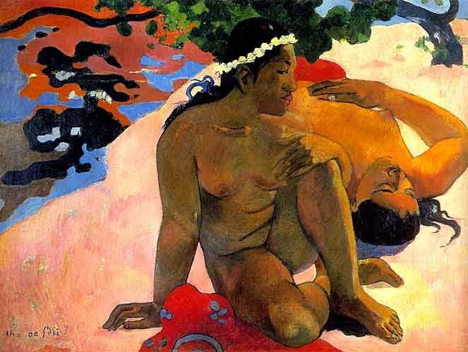 Aha Oe Feii? (What! Are You Jealous?), Paul Gauguin, 1892