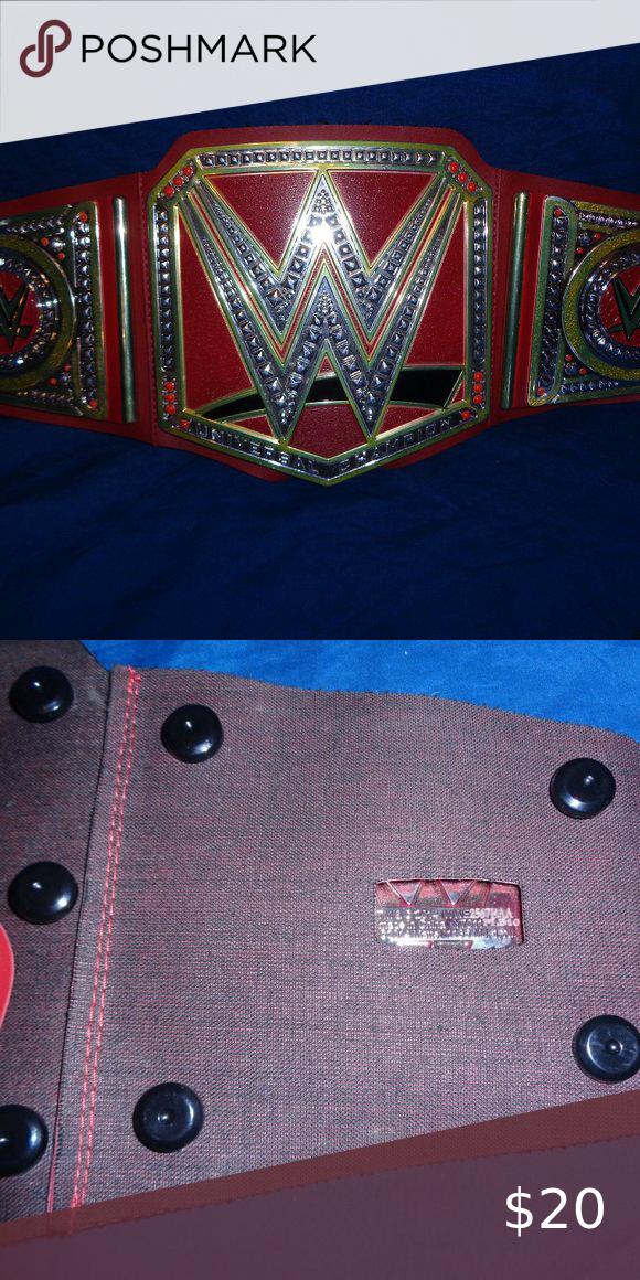 Wwe Universal Champion Wrestling Belt Belt Wwe Champion
