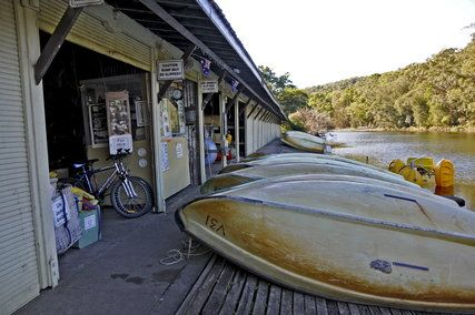Audley Boat Shed About New South Wales Boat Shed Boat Storage Shed