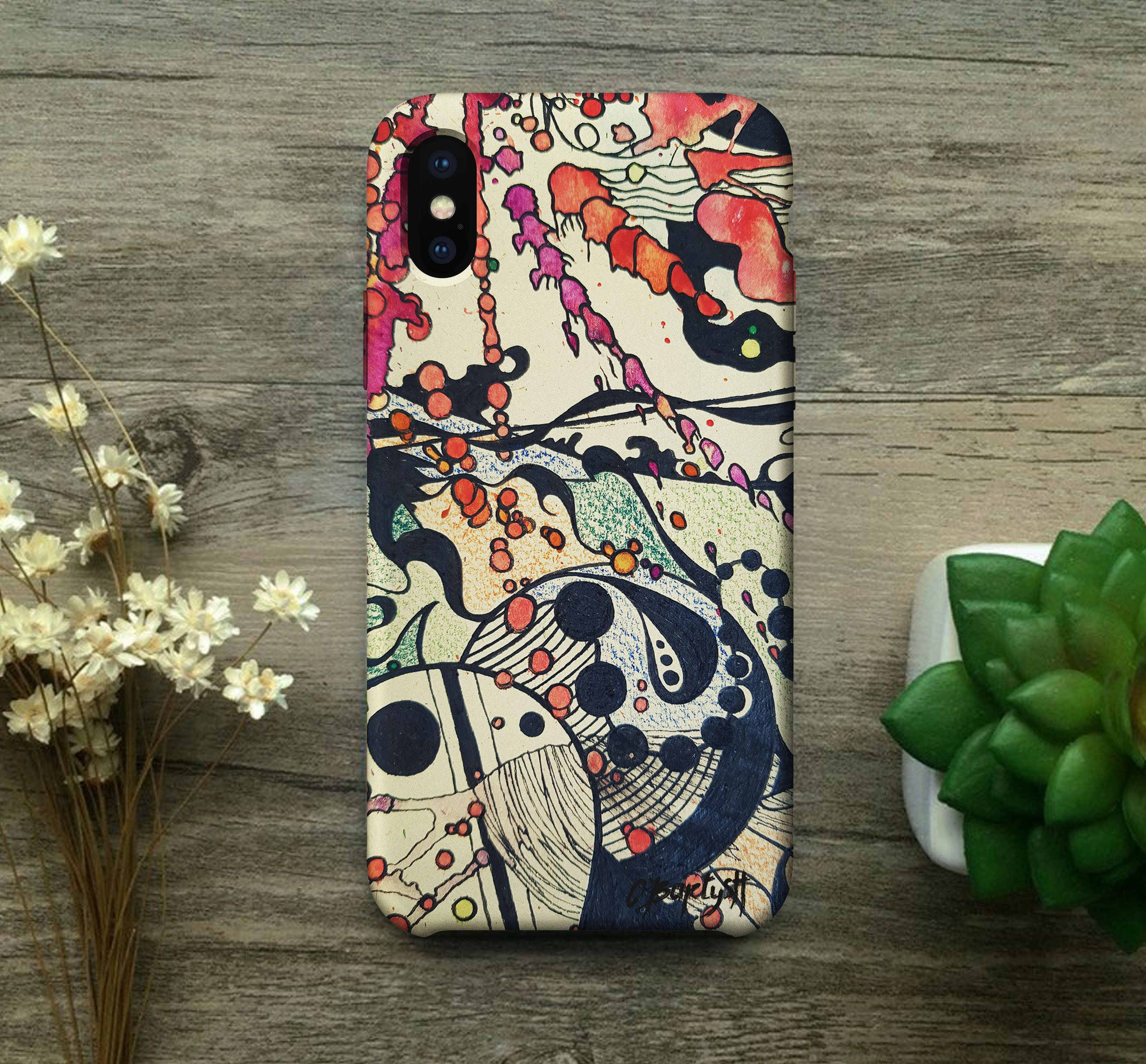 IPhone X Case Abstract Aesthetic Samsung Galaxy S9 Case