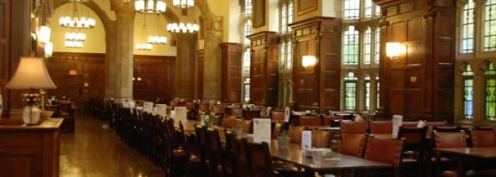 Merveilleux Yale University | Saybrook College, Dining Hall.