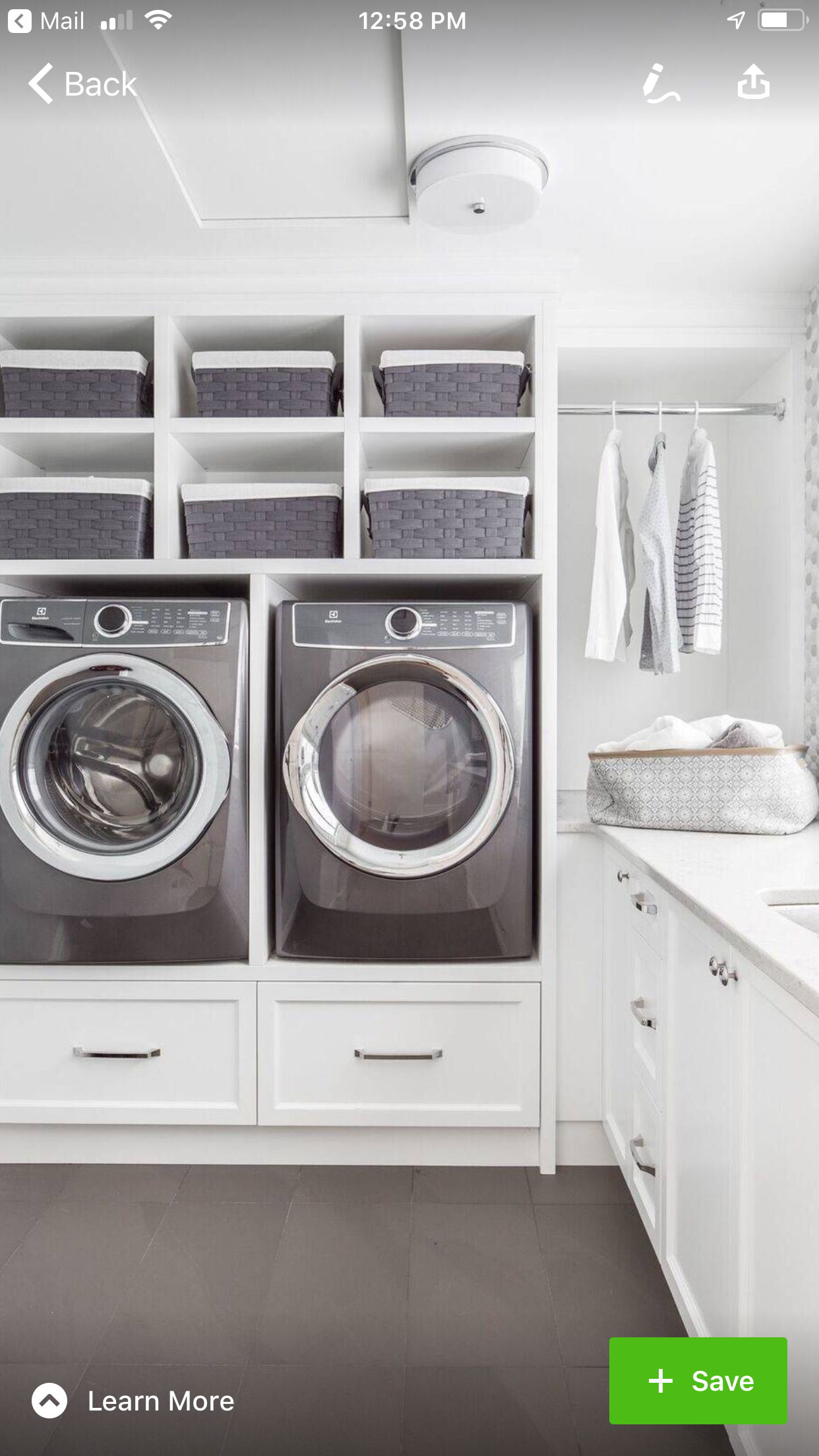 Pin By Sarah Steinhauser On Laundry Room Laundry Room Diy Diy Laundry Room Storage Laundry Room Design