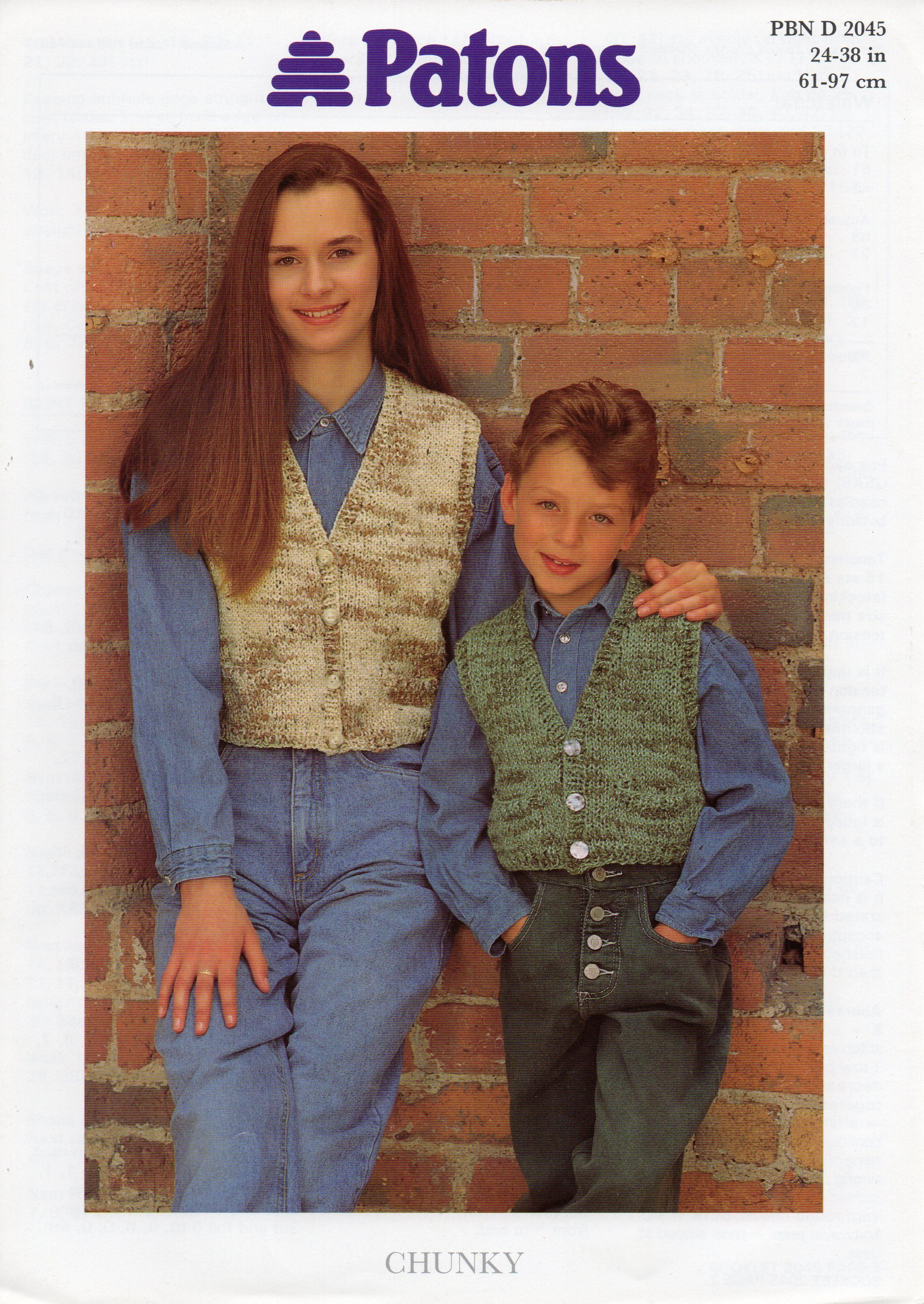 Waistcoats knitting pattern for sale at www.the-pattern-parlour.co ...