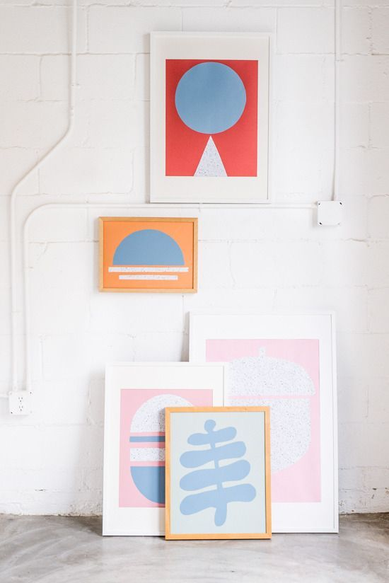 How to: DIY Modern Wall Art in Under 30 Minutes » Curbly | DIY Design Community