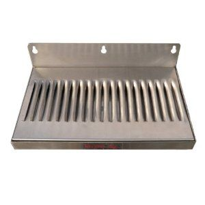 6 X 12 Stainless Steel Wall Mount Draft Beer Drip Tray By Home Brew Stuff 38 99 No Drain Stainless Steel Drip Tr Steel Wall Drip Tray Home Brewing