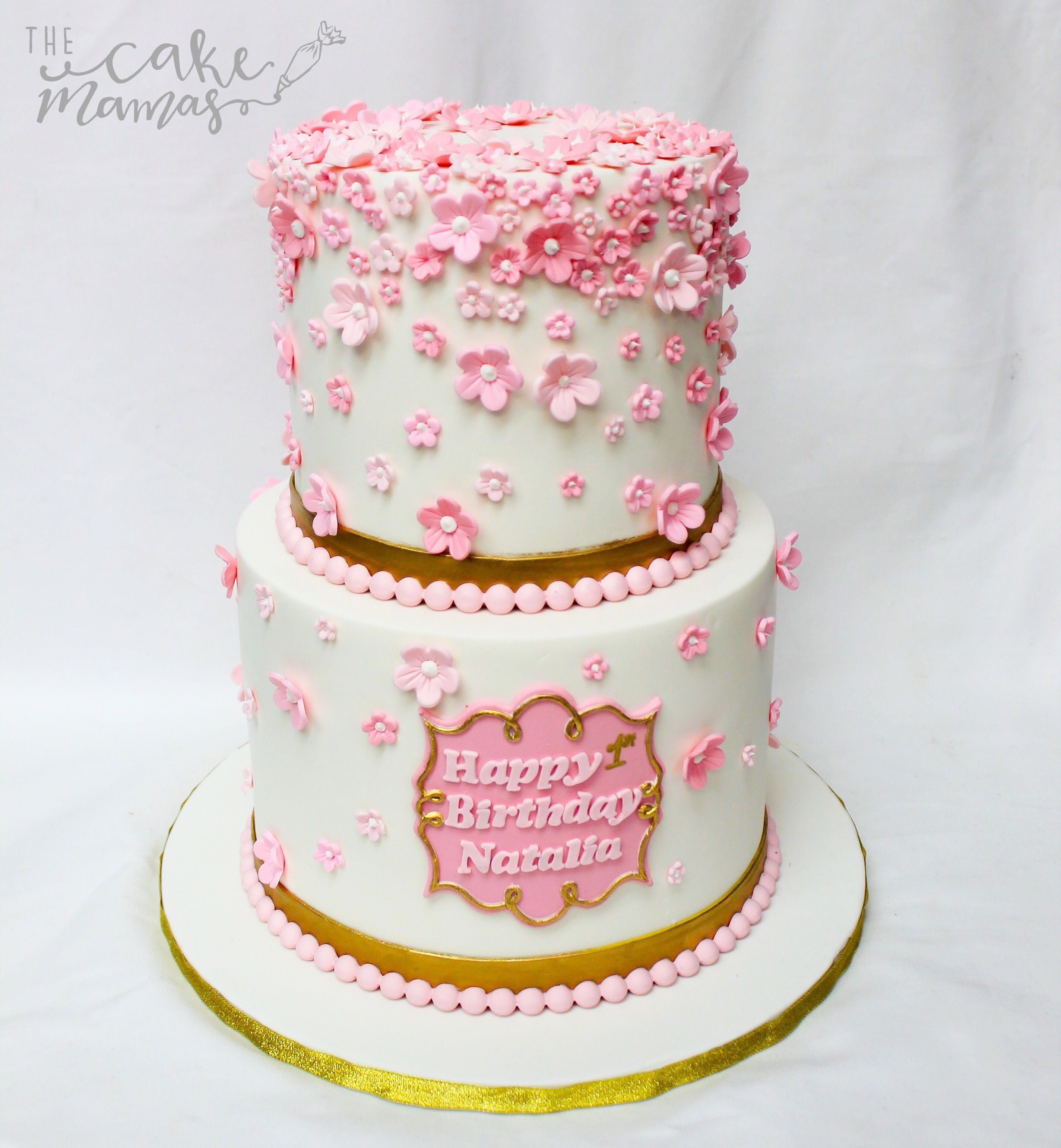 Floral Birthday Cake! Call Or Email To Book Your Birthday