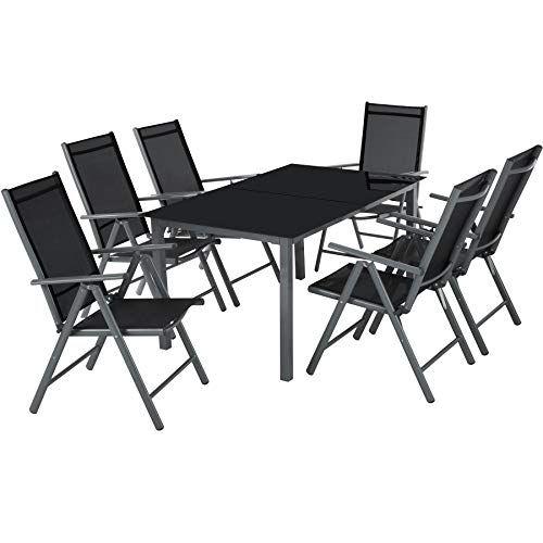 TecTake Aluminium 61 Salon de Jardin Ensemble sièges Meubles ...