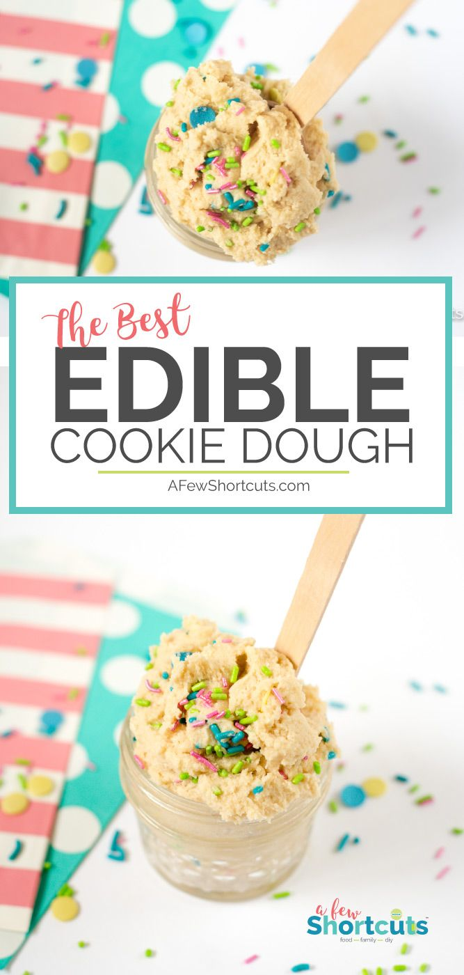 The Best Edible Cookie Dough Recipe