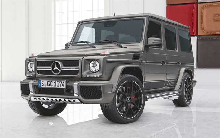 Download Wallpapers 4k Gelendvagen Mercedes Benz G63 Amg