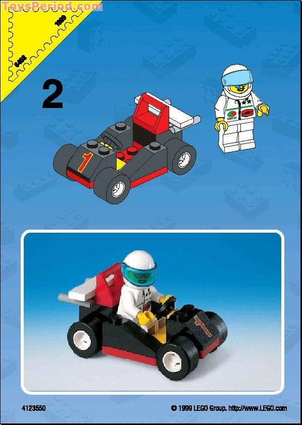 lego go kart instructions simple - Google Search | Go Kart Party ...