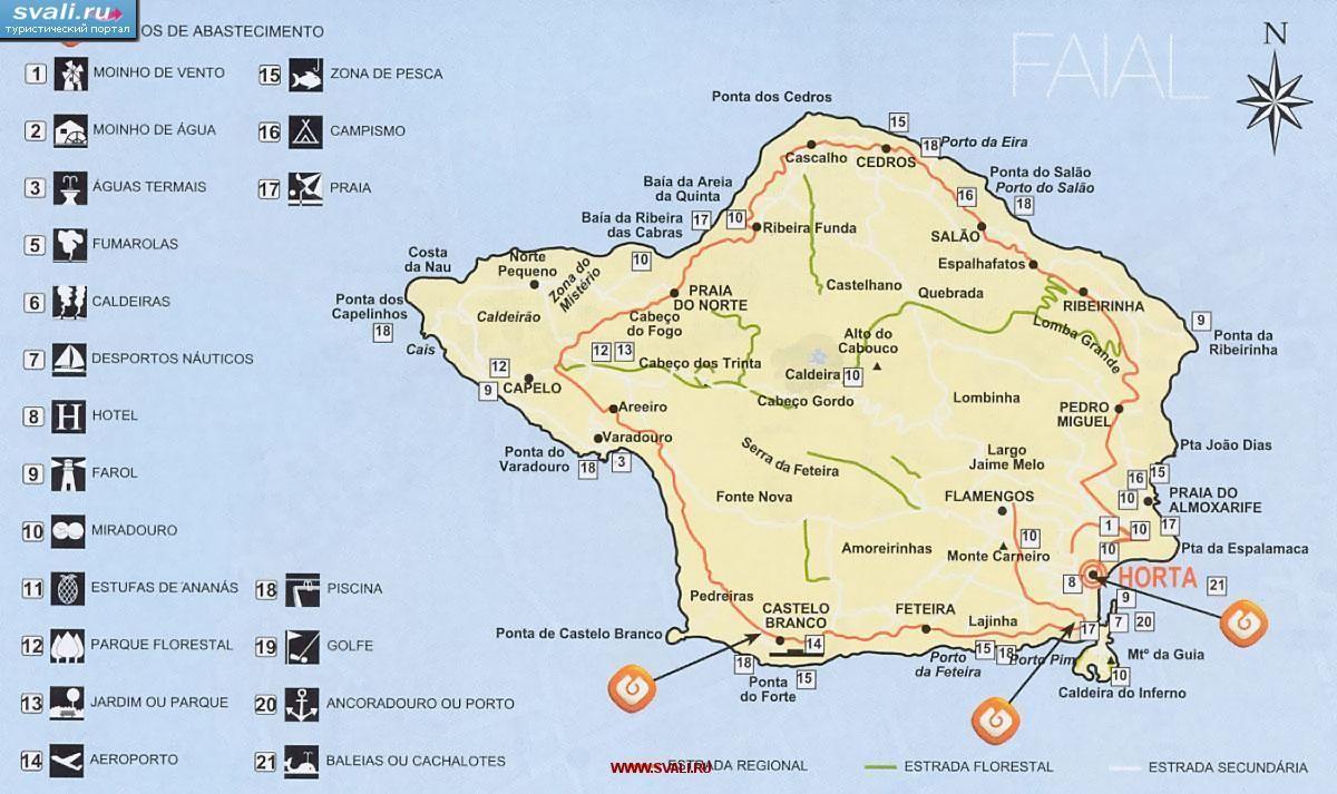 Faial Island Portuguese Pronunciation Fɐˈjaɫ Is A Portuguese