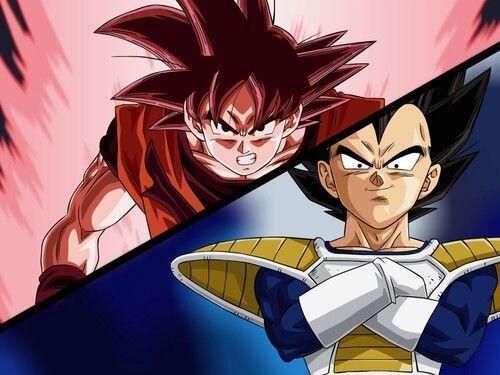 C C Dragon Ball Z Kai Power Of The Kaio Ken Goku Vs Vegeta