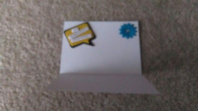 2nd card