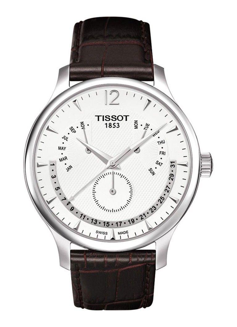 Tissot Horloge Tradition T0636371603700. €395 at De Bijenkorf